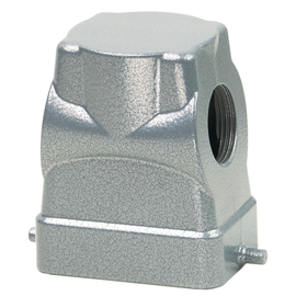 P758624 WALTHER Tüllengehäuse B6 72 mm hoch LVN, 1xM25 seitl. Produktbild