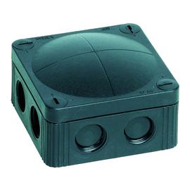 10060580 Wiska Combi 308/5/S FR-Abzweig dose schwarz 85x85x51 IP66 mit 5x4 Klemm Produktbild