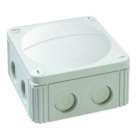 10060534 Wiska Combi 607/5/W FR-Abzweig dose weiß IP66 110x110x66 mit 5x6 Klemme Produktbild