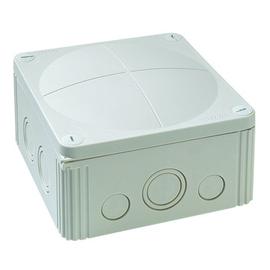 10062211 Wiska Combi 1010/5/W FR-Abzweig dose weiß IP66 140x140x82+ 5x10 Klemme Produktbild