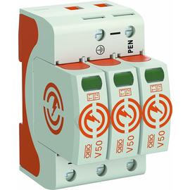 5093511 Obo V50 3 280 CombiController V50 dreipolig 280V B+C Typ 1+2 Produktbild