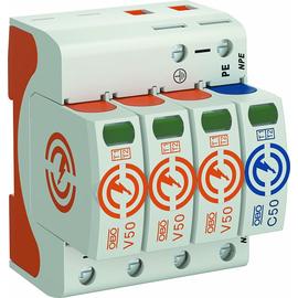 5093526 Obo V50 3+NPE 280 Combi- Controller dreipolig mit NPE 2 Typ 1+2 Produktbild
