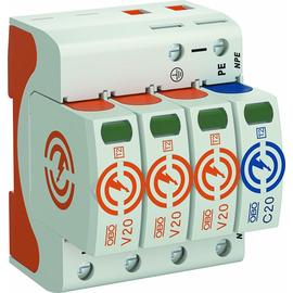 5095253 Obo V20 3+NPE 280 Surge- Controller V20 dreipolig mit NPE 2 Typ 2 Produktbild