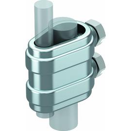 5335140 Obo 223 O DIN ZN Trennstück offen 8 10mmx16  Zinkdruckguss galvanis Produktbild