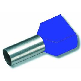 701581 Eltropa Aderendhülse mit Isolation 2x2,5qmm, L 10mm, blau Produktbild