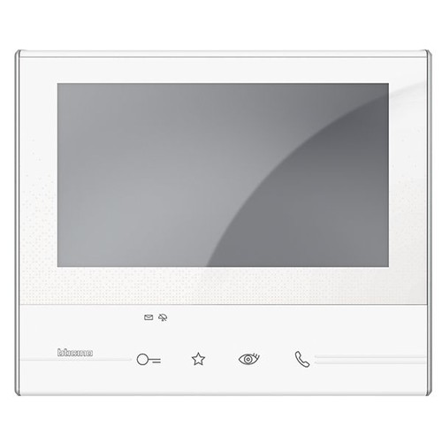 """344612 Bticino Classe 300 V13E Video Hausstation AP 7"""" LCD-Touchscreen WS Produktbild Front View L"""