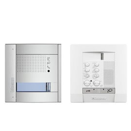 361211 Bticino Einfamilien-Audio-Set Sfera allmetal Polyx Audio (Lautsp Plus) Produktbild