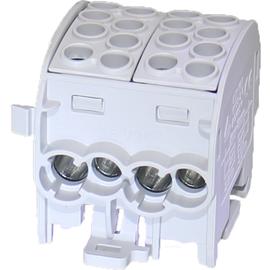 92009058 E-Term ZK35/1 1x8 anreihbar Hauptleitungsklemme 1-pol.(4x35+4x25) gr Produktbild