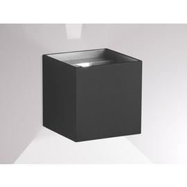 472-291008ag Molto Luce NEXT WL anthrazit  2x LED 3W B100H100AL100 IP54 Produktbild
