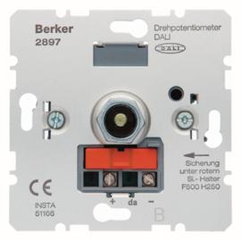 2897 BERKER Drehpotentiometer DALI Produktbild