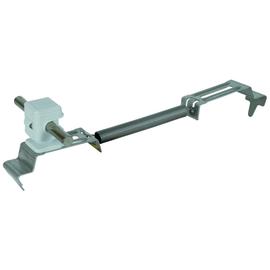 204269 DEHN Dachleitungshalter SPANNsnap NIRO/K-grau H 16mm f. Rd 8mm Produktbild