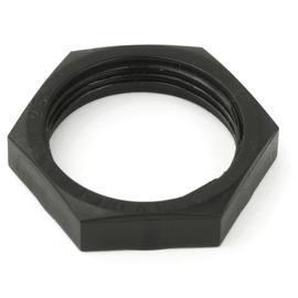 0026256 Dietzel SLN 20 SW Gegenmutter Polyamid schwarz RAL9005, M 20x1,5 Produktbild