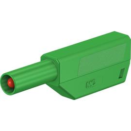 22.2657-25 MULTI CONTACT SLS425-SE/Q/N 4 mm Einzelstecker komplett grün Produktbild