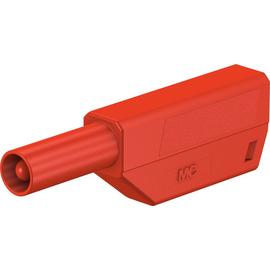 22.2657-22 Multi Contact SLS425-SE/Q/N 4 mm Einzelstecker komplett rot Produktbild