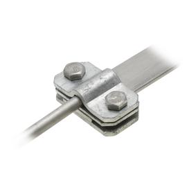 0063859 Dietzel TS8-10/30fv Trennstellen mit Zwischenplatte, 8-10/30mm, fv Produktbild