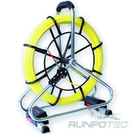 10065 Runpotec Profi-Set Glasfaserstab 80m Ø6mm Gewinde RTG Ø6mm Haspel Ø 520mm Produktbild