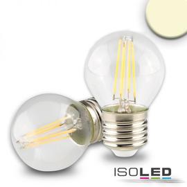 112443 ISOLED LED Illu Filament E27 4W 340lm 2700K klar warmweiß dimmbarEEI:A++ Produktbild