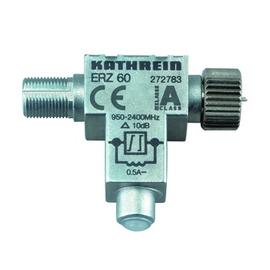 272783 Kathrein ERZ 60 Sat Festentzerrer 10 dB, 950 2400 MHz, Grunddämpfung: 1 d Produktbild