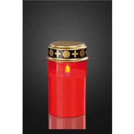 520378 Hellum LED Grablicht rot LED gelb flackernd ohne Batterien Produktbild