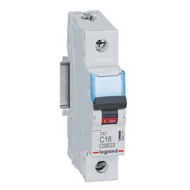 404171 Legrand TX3 LS C16A 1P 10KA 1M LS-Schalter Produktbild