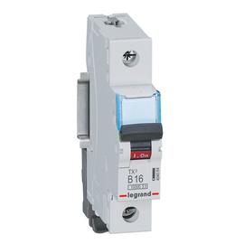 404084 Legrand TX3 LS B16A 1P 10KA 1M LS-Schalter Produktbild