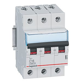 404222 Legrand TX3 LS C16A 3P 10KA 3M LS-Schalter Produktbild