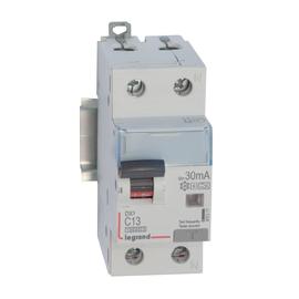 411311 Legrand DX3 FILS C13 1+N 10KA 30MA A-G FI/LS-Schalter Produktbild
