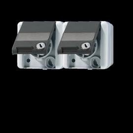 8220NAWSL EURO UNITECH SCHUKO-Steckdose m. Sicherheitsschloss Produktbild