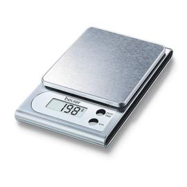 704.10 (0) Beurer KS 22 Küchenwaage Edelstahl max. 3kg Produktbild