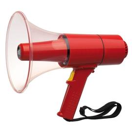 WHM-025 S RCS Handmegaphon, max. 25 W, rot, mit Sirenensignal Produktbild