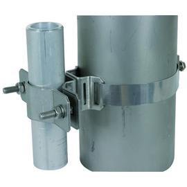 105160 DEHN Befestigungsschelle für Rohre D 40-50mm mit Spannbandbefestigung Produktbild