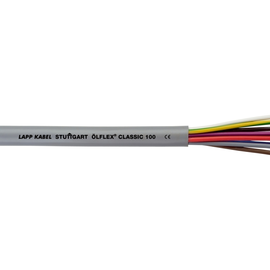 0010007 ÖLFLEX CLASSIC 100 10G0,5 grau PVC-Steuerleitung fbg. Adern Produktbild
