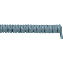 70002707 ÖLFLEX SPIRAL 400 P 7G1,5/1500 PUR-Spiralkabel grau, dehnbar 3750mm Produktbild