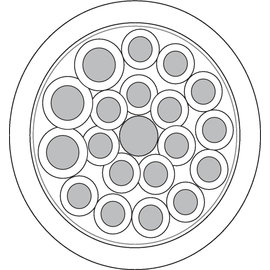 7038882 UNITRONIC SENSOR Li9Y11Y 3x1,0+16x0,5UL Produktbild
