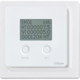 30065565 Eltako FEA65D-wg Energiever- brauchsanzeige m. Display reinweiß glz Produktbild