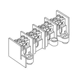2686/4 Kleinhuis KLEINHUIS Hauptleitungsklemme 4x25mm2 Produktbild