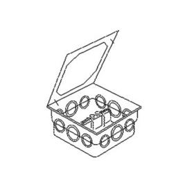 6308 Kleinhuis KLEINHUIS Potential Ausgleichsschiene    in UP Dose mit Dec Produktbild
