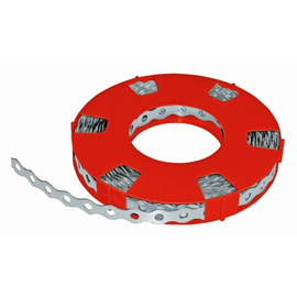 54112 Siblik Metall   Montageband 12mm x 0,7mm        Loch 5,1mm, Länge 10m, Übe Produktbild