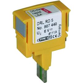 907442 DEHN Überspannungsableiter DEHNrapid LSA Schutzstecker Produktbild
