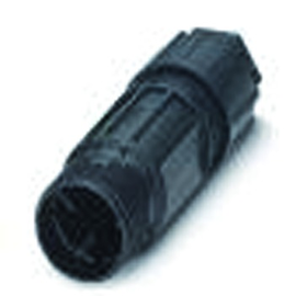 1582220 Phoenix QPD C 3PE2,5 1X6-10 BK Leitungsverbinder 4-polig (3+PE) Produktbild