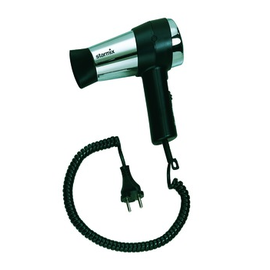 020723 Starmix TFC16 Haartrockner 1600W mit Schukostecker schwarz/chrom Produktbild