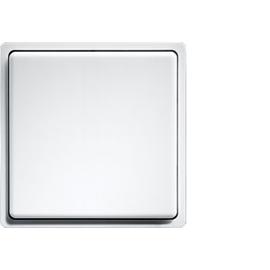 30000195 Eltako FMT55/2 wg Funk Minitastermit Wippe reinweiß glänzend Produktbild
