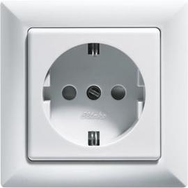 30000652 Eltako DSS+SDO55 rw Schutzkontakt Steckdose mit Oberteil re Produktbild