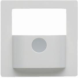 80960429 BERKER KNX Q.x Abdeckung f. Bewegungsmelder-Modul Polarweiß samt Produktbild
