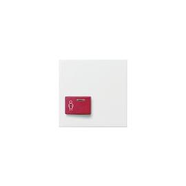 022927 Gira Abdeckung Ackermann 73022 A2 System 55 Reinweiß matt Produktbild