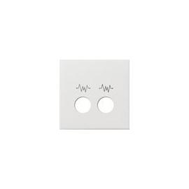 0241112 Gira Abdeckung Ackermann 73075 D Flächenschalter Reinweiß Produktbild