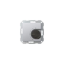 0390203 Gira RTR 230 V mit Öffner Gira E22 Aluminium Produktbild