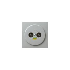 040542 Gira Potentialausgleich 2fach S Color Grau Produktbild