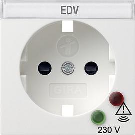 144103 Gira Abdeckung SCHUKO Überspannungsschutz System 55 Reinweiß Produktbild