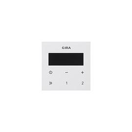 248003 Gira Bedienaufsatz Unterputz Radio RDS System 55 Reinweiß Produktbild